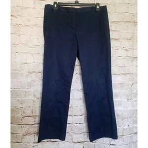 J.Crew Navy City Fit Dress Career Pants Trousers
